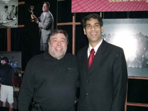 Sidd introduces Apple Co-founder Steve Wozniak